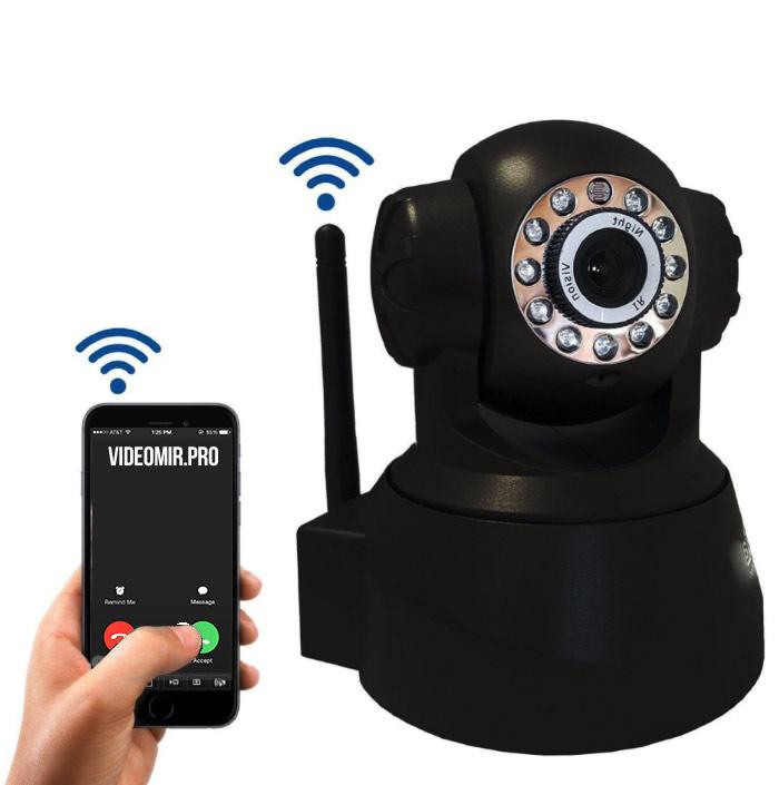 Управление видеонаблюдением с телефона