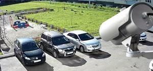видеонаблюдения на парковке
