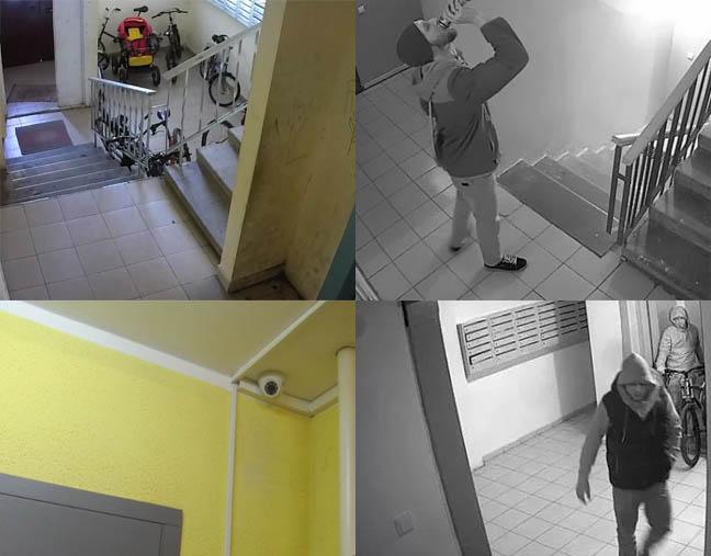видеокамер над подъездами