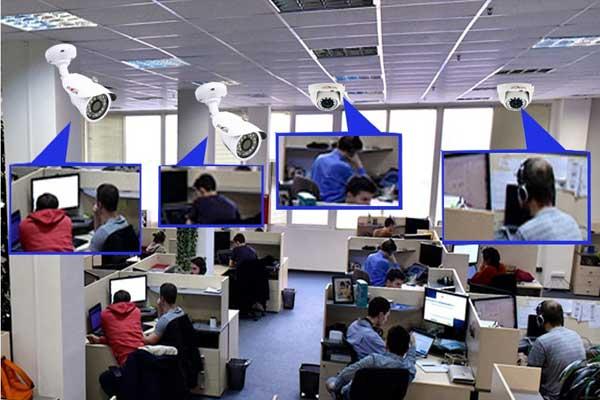 Камеры наблюдения в офис