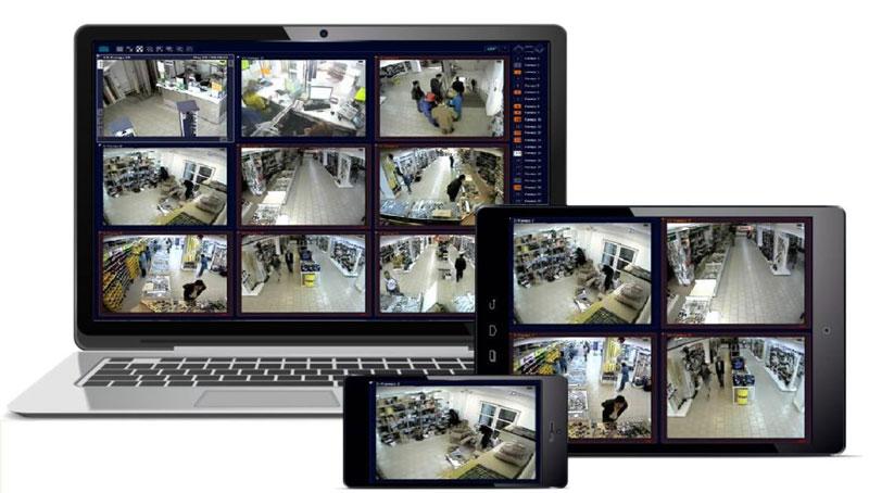 IP-камеры транслируют