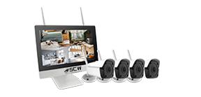 Готовые комплекты Wi-Fi и IP видеонаблюдения