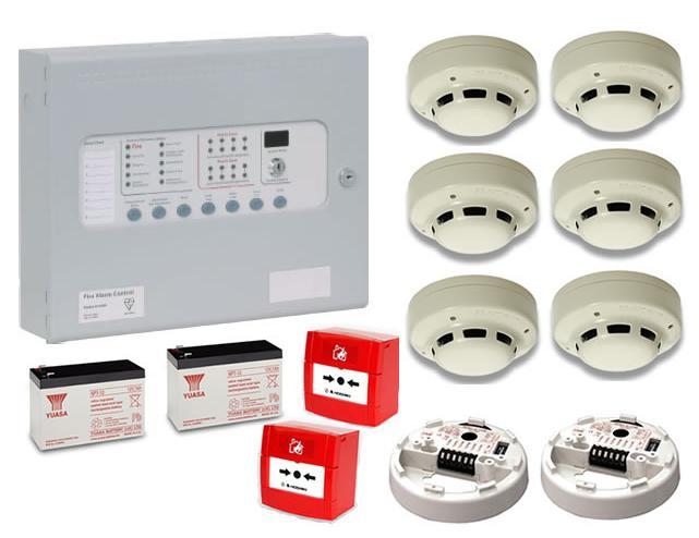 Обычные системы пожарной сигнализации