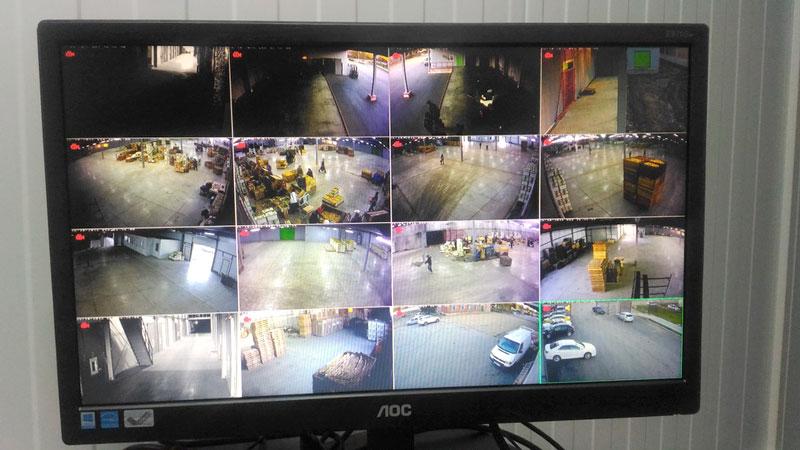 Надзорные и охранные камеры видеонаблюдения