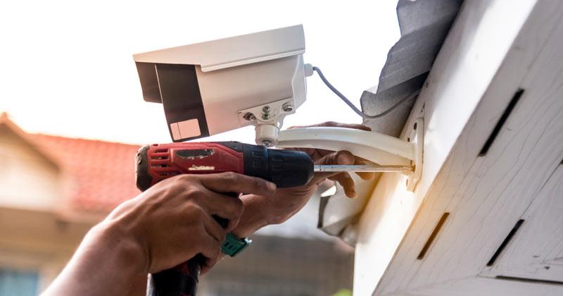 Основные этапы монтажа системы видеонаблюдения