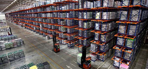 Камеры видеонаблюдения на склад