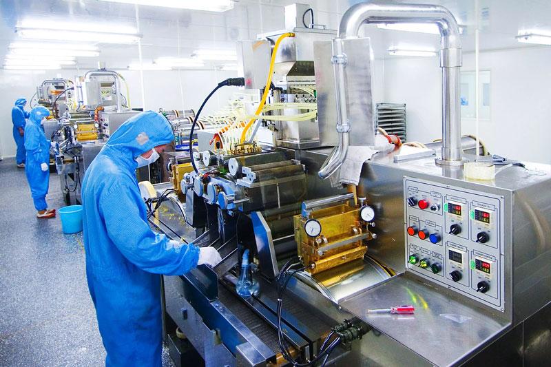 Видеоконтроль процесса производства продукции