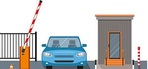 Монтаж шлагбаума с автоматизацией въезда/выезда
