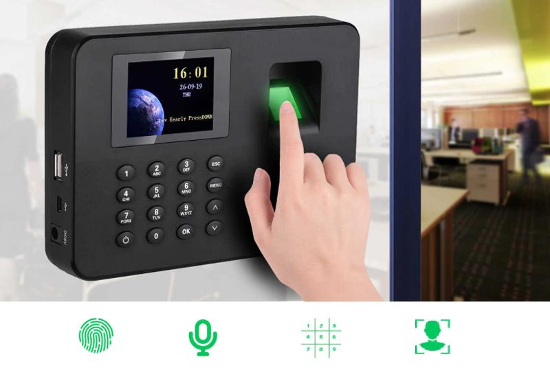 Биометрическая система учёта рабочего времени сотрудников