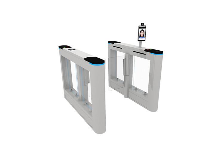 Система доступа к двери с распознаванием лиц Android нового дизайна с температурой