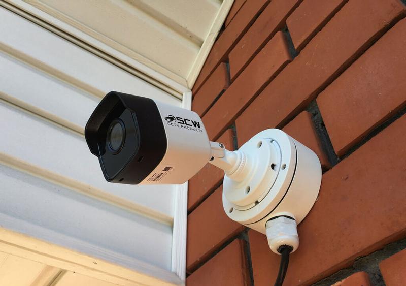 подключение уличных камер на зданиях