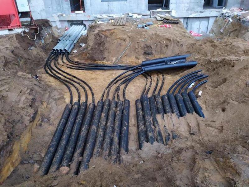 Прокладка в кабельной канализации