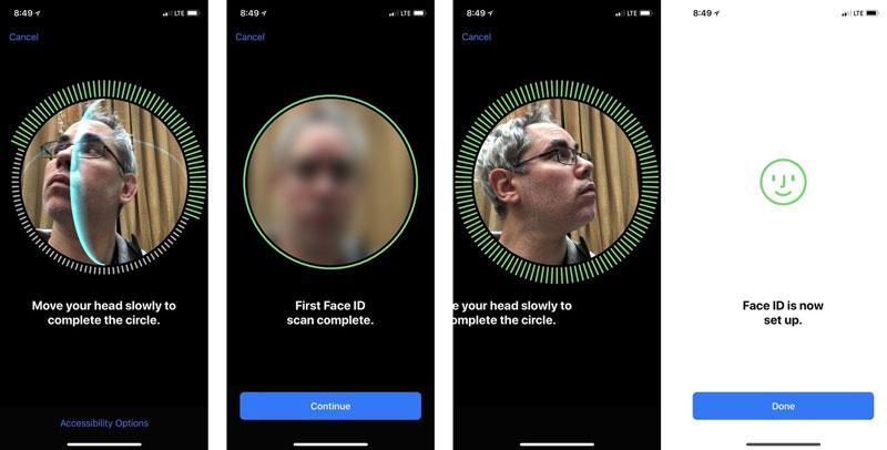Face ID в IPhone
