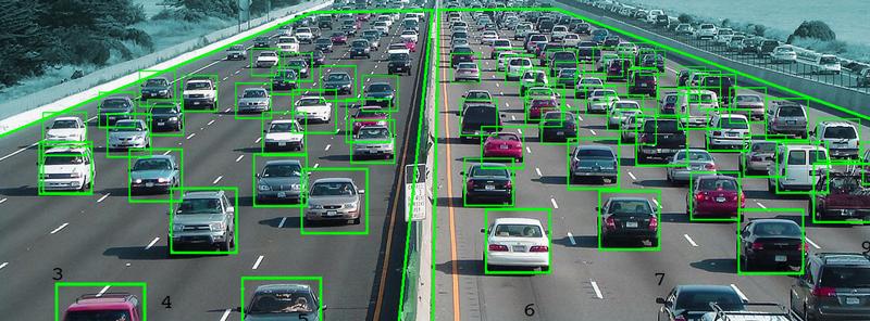 Контроль проезжающих автомобилей, трафик
